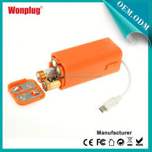 2014 newest designed top sales AA batteries power bank for toshiba laptop
