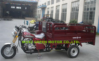 150cc 200cc gas motor tricycle for cargo farming tricycle