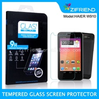 Competitive Price tempered glass screen guard/screen protection film/touch screen glass film for Haier W910 OEM/ODM