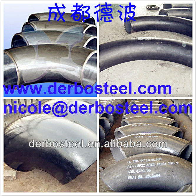Most Demanded Products Low Temperature Carbon Steel ASTM A420 Bend Elbow