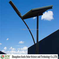 25w Double arm 50kw off grid solar power system CE Rohs IP65 villas light