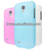 Ultra Slim Clear Design Hard Case Cover For Samsung Galaxy S4 IV Mini i9190+ Film