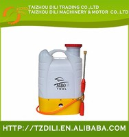 Exported low cost liquid filling irrigation battery backpack sprayer