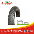 Chinese road motor tire 90/90-12 TT/TL Street road motorcycle tyres