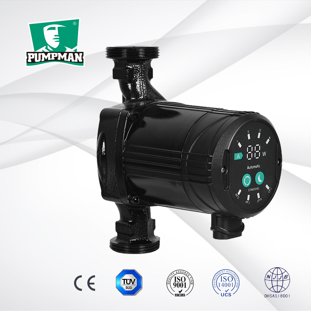 High Efficiency Air Circulator : Pumpman star c high efficiency hot water circulating