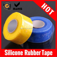 factory supply high quality hot sale solvent heat resistant silicone rubber tape widely used for emergency repair
