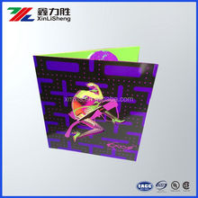 Custom 3D effect, RGB effect vibrant colorful product Instruction Leaflet/flyer, paper flyer design