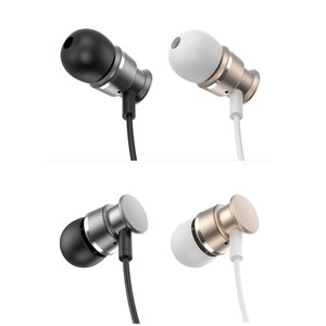 New Stereo Metallic Eabuds With Super Bass Sound Matte Wired Earphone Welcome Get Free Sample