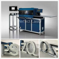 Exported Reliable led alphabet letter cnc channel letter bending machine with flanging function
