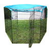 Folding Metal Commercial Dog Cage Cover