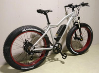 Bisek production 4.0 fat tire e bike for sand and snow use