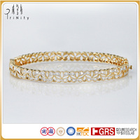 2 years quality guarantee gold bracelet jewelry design for girls
