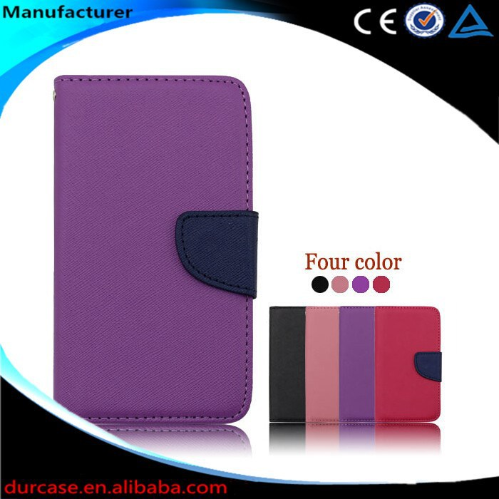 Compatible Brand Leather pu case for samsung galaxy core 2,for samsung galaxy core 2 case wallet