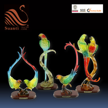 Resin Parrot Sculpture for decoration