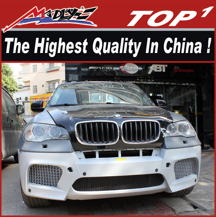 High Quality Body kits for BMW 2007-2013 X5 to X5M OEM Style bm-w x5 body kit