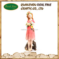 Cute Polyresin Fairy Decorative Polyresin Garden Figurines