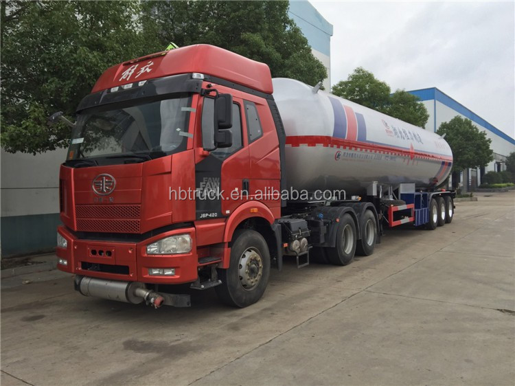 CLW 3-axis lpg transport trailer for sale