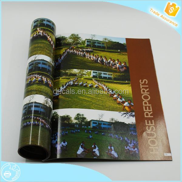 Get 500USD coupon book with blue cloth printing