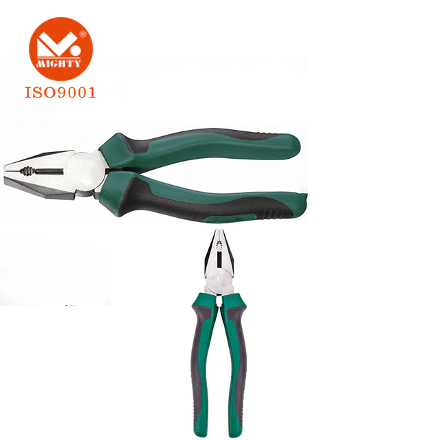 Wire Pliers TPR Handle Chrome-nickel And Chrome Vanadium Steel Pliers