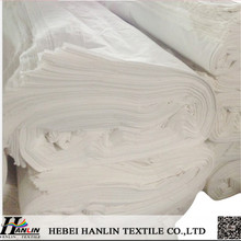 hot sell TC 80/20 110*52 110gsm off white pocketing fabrics