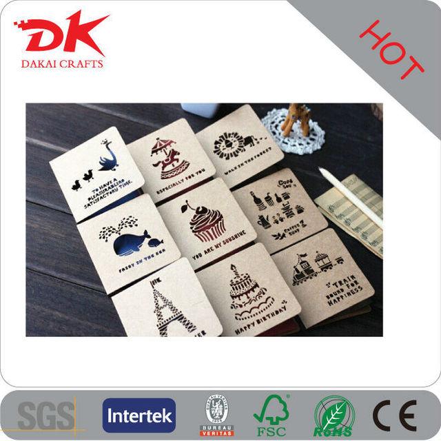 Custom Hanging cotton paper fragrance for car