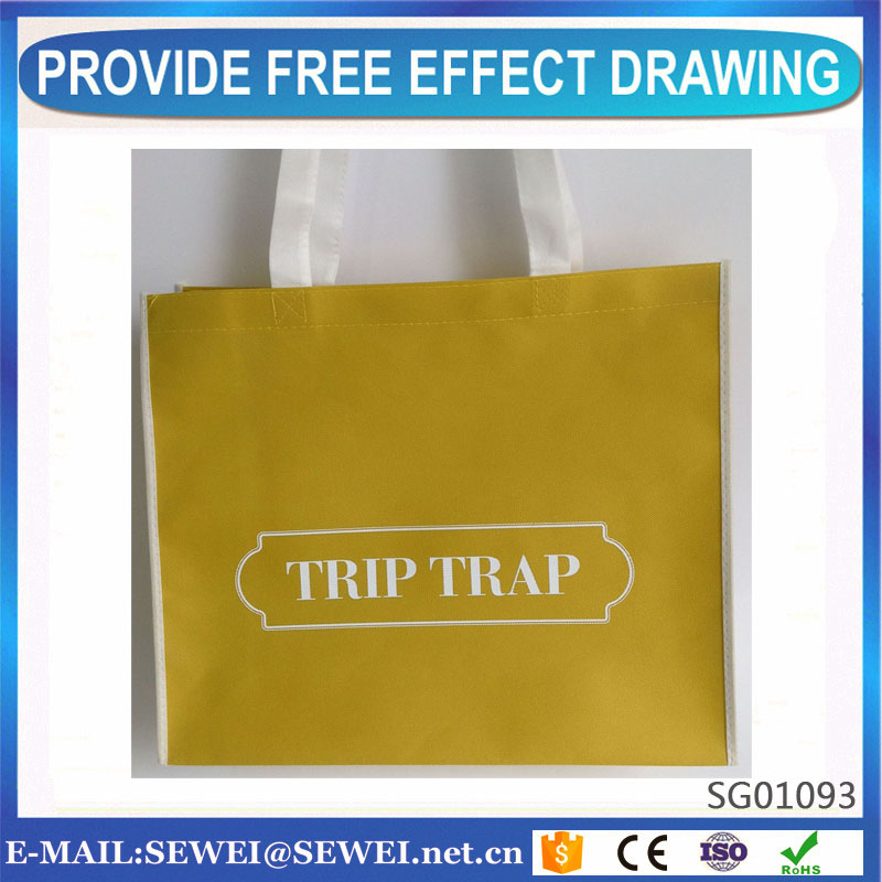 Factory price economic nonwoven shopping handle bag from Chinese manufacturers