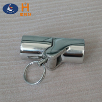 Wholesale marine stainless steel folding pipe connection for boat Chinese manufacturer