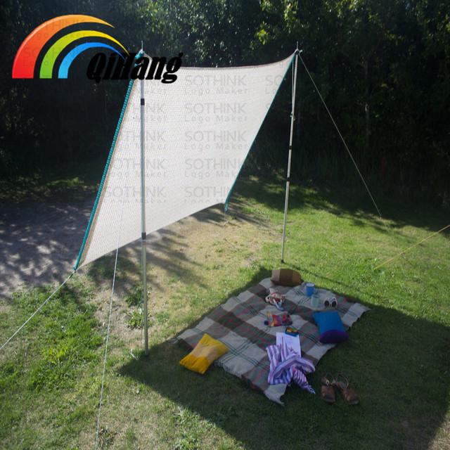 HDPE beach sun shades sail