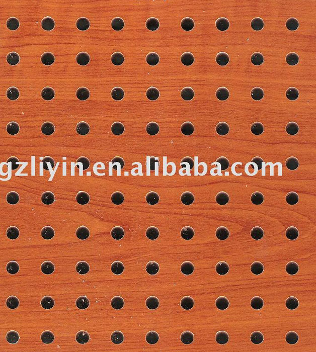 China soundproofing material acoustic panel for auditorium