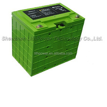 high discharge rate 12v/48v 200ah lifepo4 lithium ion battery 10kwh for golf cart
