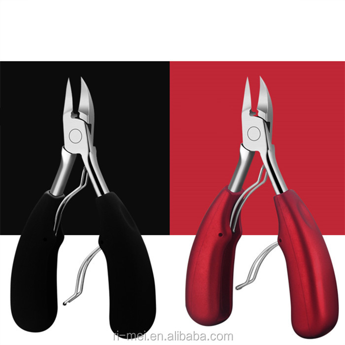 Amazon best selling Stainless Steel nail nippers clippers for thick or ingrown nails nippers
