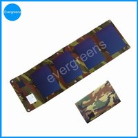 6W foldable amorphous solar charger pad