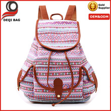 Girls Womens Canvas Travel Backpack Daypack College Backpack for Laptop