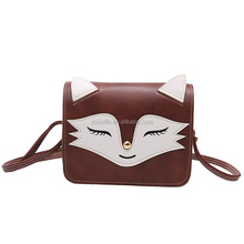 2017 Top Selling Carton Fox Lady Handbag Messenger Bag Shoulder Bags For LadiesTote Bag
