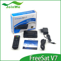 Freesat V7 Dvb-s2 Set Top Box Support You Tube,You Porn Via Usb Wifi Dongle 1080p Hd Fta Satellite Receiver Freesat V7 Hd