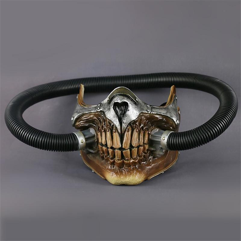 Cosermart Movie Mad Max Mask Helmet Punk Mask Skeleton Mask Halloween Devil Props Cosplay PVC Accessory Mask (3)