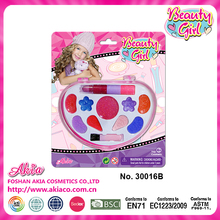 fascinating colorful drawing kid game cosmetis toy set for girls party