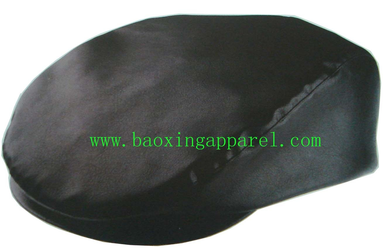 Genuine Leather Newsboy Flat Cap Gatsby hat