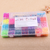 Plastic Box Mix Colorful Crazy DIY Silicone Rubber Bracelet Kindergarten Kid Toy wholesales 4400pcs Loom Bands Kit