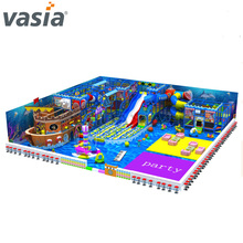 New Huaxia big commercial cheap preschool toys soft play used indoor playground equipment sale