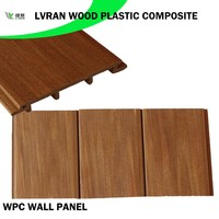 eco-friendly weather resistant outdoor wood plastic composite wpc wall panel