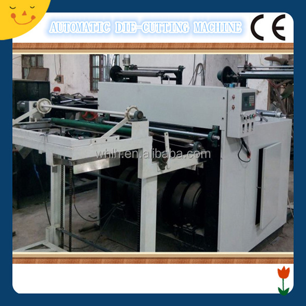 Hydraulic label die cutter