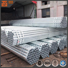 Mill carbon welded steel round pipe, natural gas pipeline, q235b galvanized round hollow section steel pipe