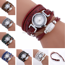 2017 popular Unique vogue wrist soft leather LOVE lady custom watches