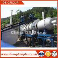 40t/h Road Construction Equipment!!! China Small Mobile Asphalt Batching Plant DHB40