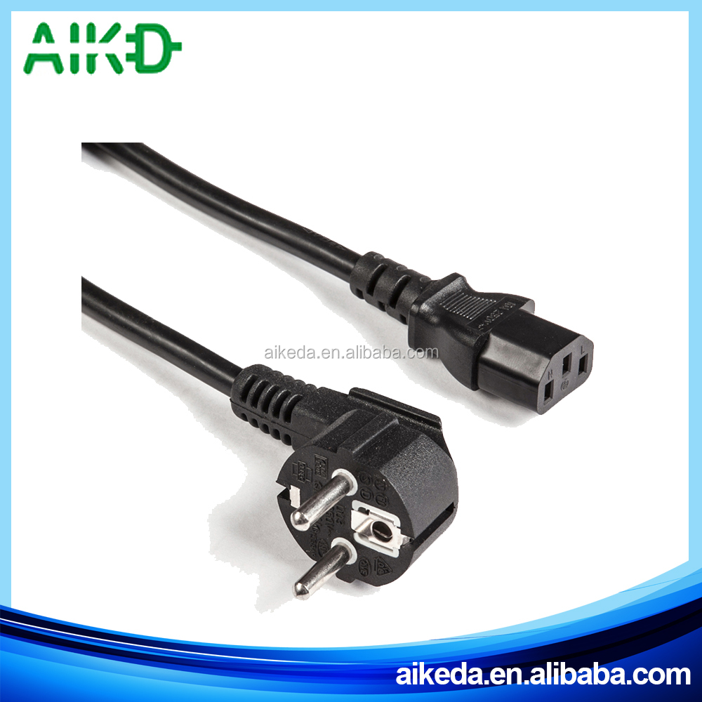 Made in zhejiang super quality oem eu power cord