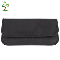 2017 Hot selling RFID shielding pouch wallet case for cell phone,Temporary card pocket