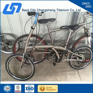 Professional titanium tandem mtb bike frame made in China