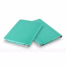 E-Tree original Tablet Leather Case For iPad 3 Leather Folio Flip Cover, For Apple iPad 3 Case Stand Sleep Awake Smart Function