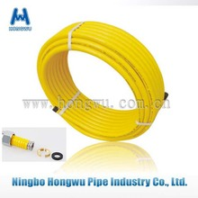 en 15266 yellow PVC covered gas tubes